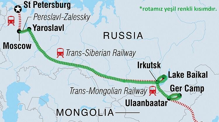 Trans Sibirya Turu
