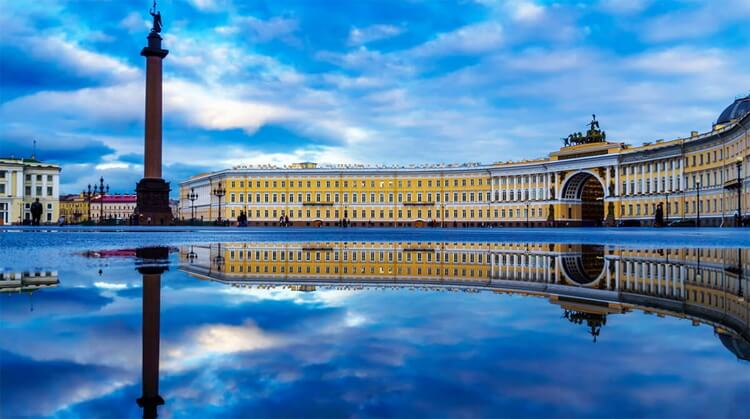 St. Petersburg Moskova Turu