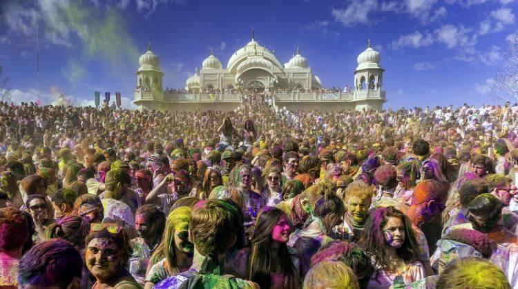 Hindistan Nepal Holi Festivali Turu