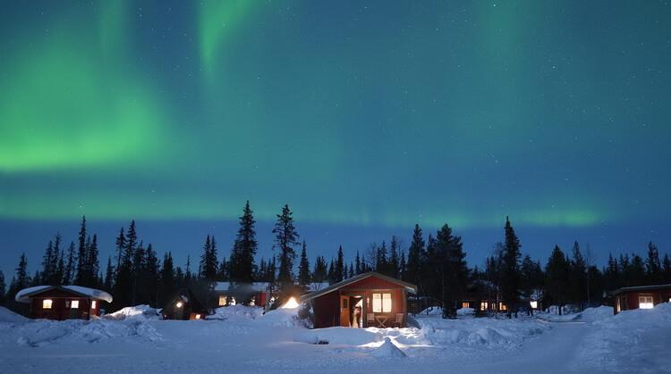Sömestr Lapland Kuzey Işıkları Turu 2